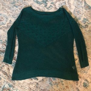 American Eagle Crocheted Sweater